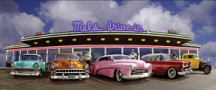 50s Diner Photo Background