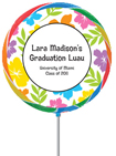 luau graduation theme party favor. custom graduation party favors