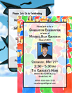 open house graduation invitations. custom invitaitons for your 2011 graduation party