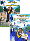 custom photo graduation invitations. custom invitaitons for your 2013 graduation party