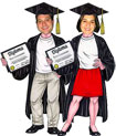 lifesized graduation cutouts