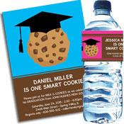 Graduation Smart Cookie theme invitation and favors