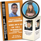 Graduation photo invitations and photo favors