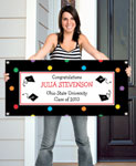 custom banners for graduation party. 2013 graduation banners
