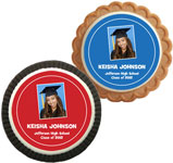 custom photo cookies for graduation party favor