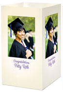 custom graduation photo centerpiece