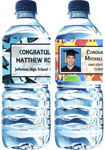 graduation party water bottle labels