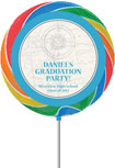 custom graduation lollipops