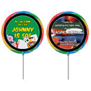 Casino theme lollipops