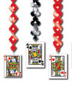 casino theme dangles