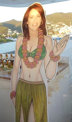 customer photo luau slifesized cutout