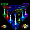 glowing martini glass