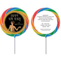 Roaring 20s theme lollipops