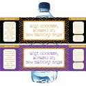 Roaring 20s Party theme water labels
