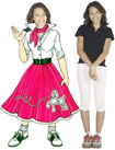 life sized poodle skirt cutout