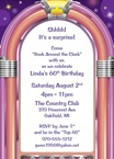 personalized jukebox invitation