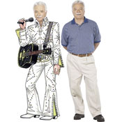Elvis theme lifesize cutout
