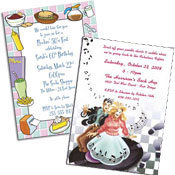 See all 50s theme invitations and favors