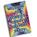 60s theme party signs and banners