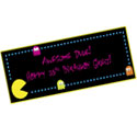 80s theme party signs and banners