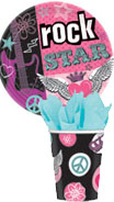 Rock Star Girl paper goods
