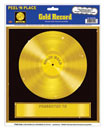 Gold Record Wall Decorations