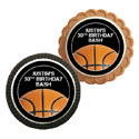 Basketball party theme cookies