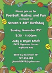 personalized fiesta bowl party invitation