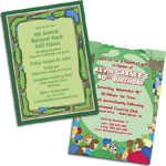 See All Golf Theme Invitations and Favors