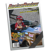 Nascar magazine theme invitations and favors