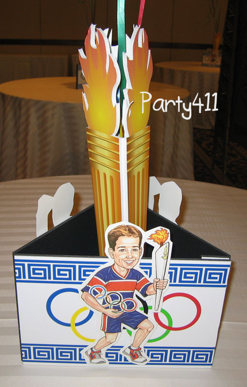 Winter olympics party theme invitations ideas