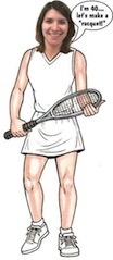 personalized tennis player life size cutout