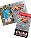 WWE Wrestling theme birthday invitations and favors