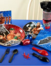 WWE wrestling paper goods
