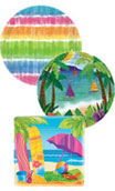 summer beach fun paper party goods