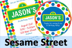 Sesame Street Theme Birthday Ideas
