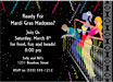 Mardi Gras Balcony Invitation