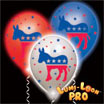 democrat light up balloons
