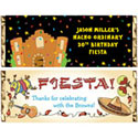 fiesta candy bars and wrappers. custom fiesta theme party favors