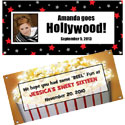 Custom Hollywood theme banners