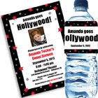 Hollywood Theme Photo Invitations and Favors