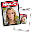 Showbuzz theme invitations and favors