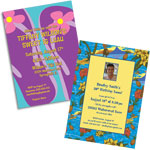 See all of our luau invitations and favors