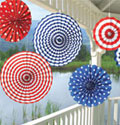 party decorations for your patriotic flag theme