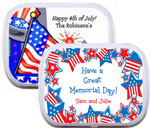 personalized 4th of July party favor