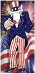 Uncle Sam Photo Op for Patriotic Party