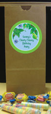 custom bug treat bags for party favors