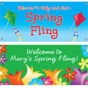 Spring theme banners