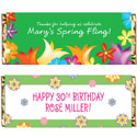 Spring theme candy bar wrappers