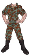 welome home soldier life size cutout